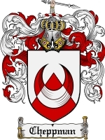 Primary image for Cheppman Family Crest / Coat of Arms JPG or PDF Image Download