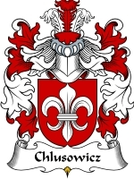 Primary image for Chlusowicz Family Crest / Coat of Arms JPG or PDF Image Download