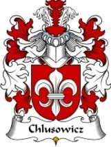 Chlusowicz Family Crest / Coat of Arms JPG or PDF Image Download - $6.99