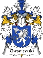 Primary image for Chroniewski Family Crest / Coat of Arms JPG or PDF Image Download