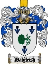Dalgleish Family Crest / Coat of Arms JPG or PDF Image Download - $6.99