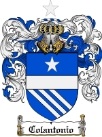 Primary image for Colantonio Family Crest / Coat of Arms JPG or PDF Image Download
