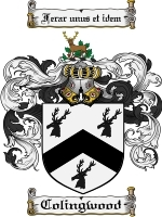 Primary image for Colingwood Family Crest / Coat of Arms JPG or PDF Image Download