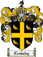 Primary image for Croseley Family Crest / Coat of Arms JPG or PDF Image Download