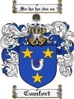 Primary image for Cumfort Family Crest / Coat of Arms JPG or PDF Image Download