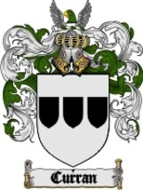 Curran Family Crest / Coat of Arms JPG or PDF I... - $6.99