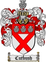 Primary image for Cutbush Family Crest / Coat of Arms JPG or PDF Image Download