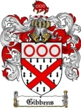 Gibbens Family Crest / Coat of Arms JPG or PDF Image Download - $6.99