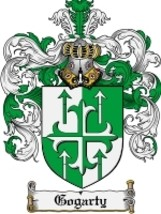 Gogarty Family Crest / Coat of Arms JPG or PDF Image Download - $6.99