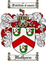Hathorn Family Crest / Coat of Arms JPG or PDF Image Download - $6.99