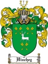 Hinchey Family Crest / Coat of Arms JPG or PDF Image Download - $6.99
