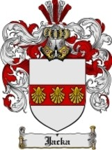 Jacka Family Crest / Coat of Arms JPG or PDF Image Download - $6.99