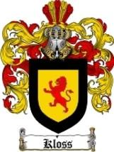 Kloss Family Crest / Coat of Arms JPG or PDF Im... - $6.99