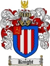 Knight Family Crest / Coat of Arms JPG or PDF Image Download - $6.99