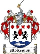 Mckeown Family Crest / Coat of Arms JPG or PDF Image Download - $6.99