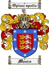 Meara Family Crest / Coat of Arms JPG or PDF Image Download - $6.99