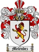 Melendez Family Crest / Coat of Arms JPG or PDF Image Download - $6.99