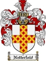 Netterfold Family Crest / Coat of Arms JPG or PDF Image Download - $6.99