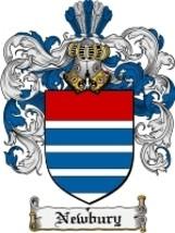 Newbury Family Crest / Coat of Arms JPG or PDF ... - $6.99
