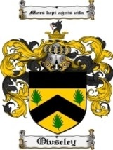 Owseley Family Crest / Coat of Arms JPG or PDF Image Download - $6.99