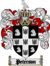 Peterson Family Crest / Coat of Arms JPG or PDF Image Download - $6.99
