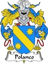 Polanco Family Crest / Coat of Arms JPG or PDF Image Download - $6.99