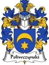 Poliwczynski Family Crest / Coat of Arms JPG or PDF Image Download - $6.99