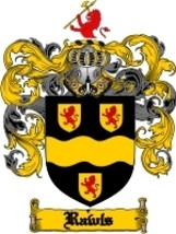 Rawls Family Crest / Coat of Arms JPG or PDF Image Download - $6.99