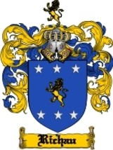 Richau Family Crest / Coat of Arms JPG or PDF Image Download - $6.99