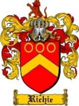 Richie Family Crest / Coat of Arms JPG or PDF Image Download - $6.99