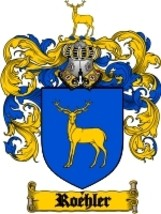 Roehler Family Crest / Coat of Arms JPG or PDF Image Download - $6.99