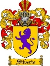 Silverio Family Crest / Coat of Arms JPG or PDF Image Download - $6.99
