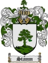 Stamm Family Crest / Coat of Arms JPG or PDF Image Download - $6.99