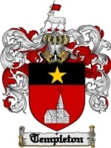 Templeton Family Crest / Coat of Arms JPG or PDF Image Download - $6.99