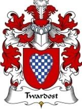 Twardost Family Crest / Coat of Arms JPG or PDF Image Download - $6.99