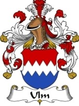 Ulm Family Crest / Coat of Arms JPG or PDF Imag... - $6.99