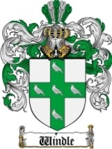 Windle Family Crest / Coat of Arms JPG or PDF Image Download - $6.99
