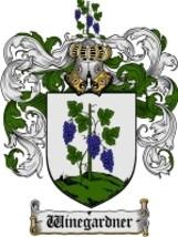 Winegardner Family Crest / Coat of Arms JPG or PDF Image Download - $6.99