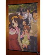 MELANCHOLY OF HARUHI SUZUMIYA GROUP ANIME WALL SCROLL - $9.95