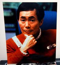 Star Trek Vintage 8x10 Photograph Kodak Photo Paper Picture George Takei Sulu - $9.89