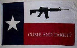 Texas Come And Take It Flag 3' X 5' Indoor Out Door Liberty Banner - $9.95