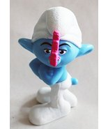 McDonald's Happy Meal Smurfs Grouchy PVC Figure From 2011 - $1.95
