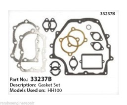 Tecumseh Gasket Set Kit 33237 B For Engine Hh100 Hh120 Complete Oem New - $36.99