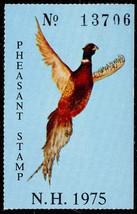 1975 New Hampshire Pheasant Stamp - Stuart Katz - $9.95