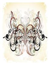 Butterfly Flourish-Digital clipart-Clip Art - $2.00