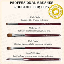 PROFESSIONAL Make-up BRUSHES FOR Lips kf04,ko10,to08,vo06,vo08 Roubloff - $11.88+
