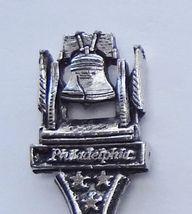 Collector Souvenir Spoon USA Pennsylvania Philadelphia Liberty Bell Figural - $9.99