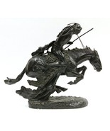 The Cheyenne Solid Bronze Lost Wax Sculpture by Frederic Remington Monum... - $6,500.00