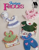 Fridgie Frocks Magnets (10) Annie's Crochet Pattern/Instructions Booklet RARE - $15.27