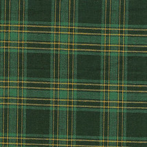 Longaberger 1999 Traditions Generosity Basket Green Plaid OE Fabric Liner Only - $21.73